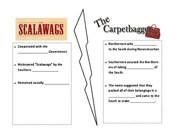 Scalawag and Carpetbagger Notes