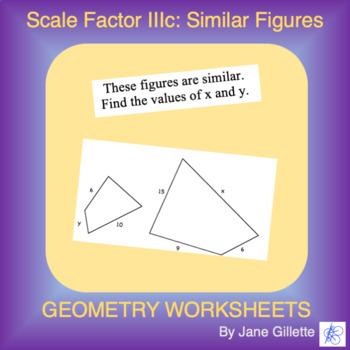 Scale Factor IIIc: Similar Figures