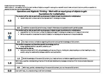Scale – Math Common Core Standards Gr 2 MACC.2.OA.C.4 Oper
