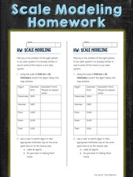 Scale Modeling Homework