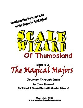 Scale Wizard Piano Music Book