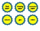 Scalloped Student Supply Labels Pack