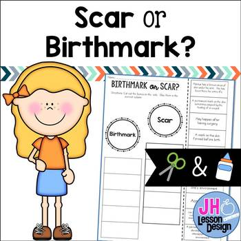 Scar or Birthmark? Cut and Paste Sorting Activity