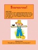 Scarecrow!  A Fall and Halloween Themed ABC and Sight Word Game