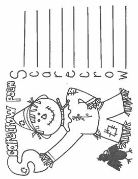 Scarecrow Acrostic