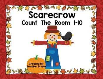 Scarecrow Count The Room 1-10