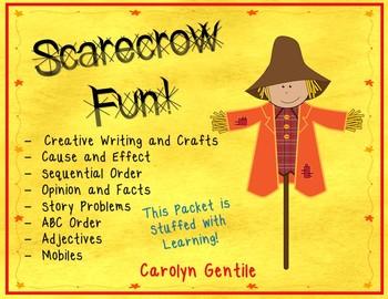 Scarecrow Fun!  Stuffed with Learning!