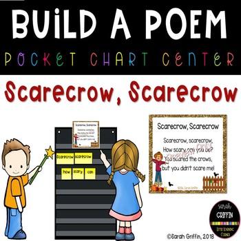 Build a Poem ~ Scarecrow, Scarecrow