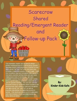 Scarecrow Shared Reading/Emergent Reader and Follow Up Pack