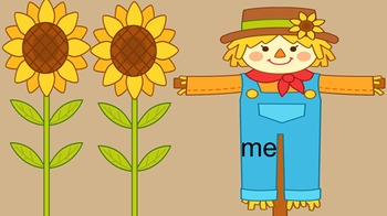 Scarecrow Sight Words