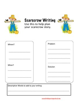 Scarecrow Writing