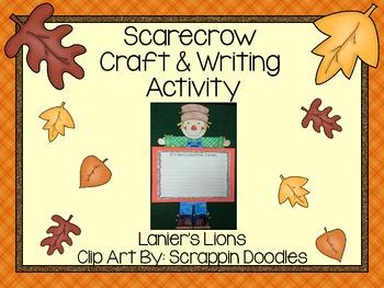 Scarecrow Writing & Craft Activity FREEBIE