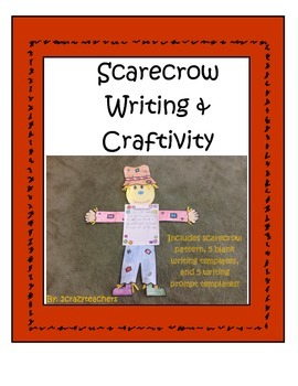 Scarecrow Writing and Craftivity
