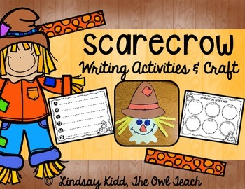 Scarecrows:  Writing Activities and Craft