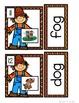 Scarecrows: Mini Word Work for CVC Words