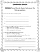 Scaredy Squirrel At Night Comprehension Packet