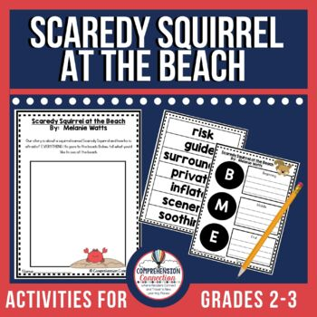 Scaredy Squirrel at the Beach