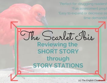 Scarlet Ibis Short Story Review