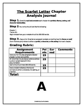 Scarlet Letter Journal