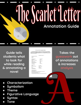The Scarlet Letter Annotation Guide