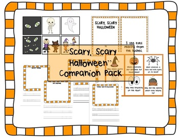 """""""Scary, Scary Halloween"""" by Eve Bunting - Companion / Acti"""