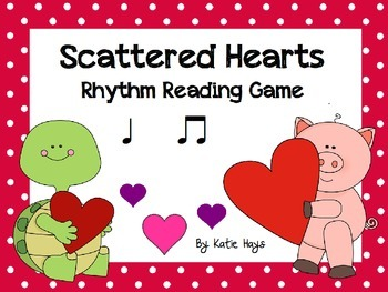 Scattered Hearts: A Koosh Activity with Quarter Note and E