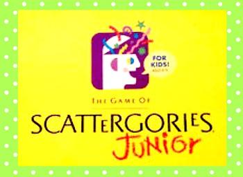 Scattergories Jr. Game (editable)