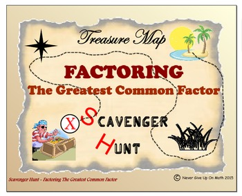 Scavenger Hunt {School/Home/Stations} - Factoring the Grea