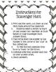 Scavenger Hunt! Module 2 Lessons 1-5
