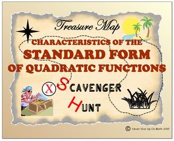 Scavenger Hunt {School/Home/Stations} - Standard Form of Q