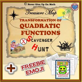 Scavenger Hunt - Vertex Form and Transformation of Quadrat