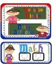 Schedule chart: Superhero Theme in Spanish with Editable t