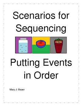 Scenarios for Sequencing