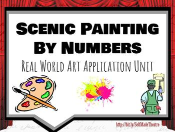 Scenic Painting By Numbers- Real World Art Application Unit