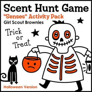 Scent Hunt Game: Halloween Version - Girl Scout Brownies -