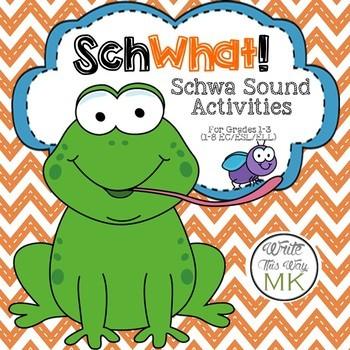 SchWhat: Schwa Sound Activities