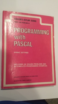 Schaum's Outlines - Programming with Pascal (1985, Paperba
