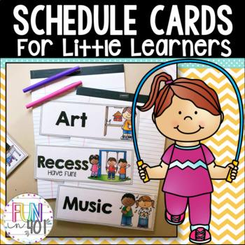 Schedule Cards!