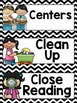 Schedule Cards {Black and White Chevron Classroom Decor Theme}