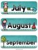 Editable Schedule Cards & Months {Sunshine, Lace, & Burlap