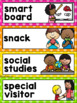 Schedule Cards in a Polka Dot Classroom Decor Theme {EDITABLE}