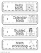 Schedule Cards - in color and ink-saving B&W!