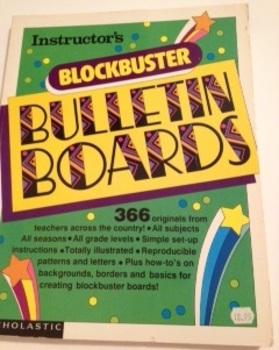 Blockbuster Bulletin Boards Book