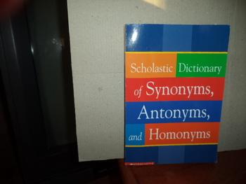 Scholastic Dictionary  ISBN 0-439-25415-9