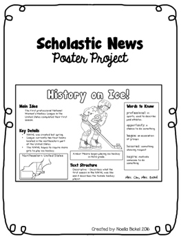 Scholastic News Poster Project