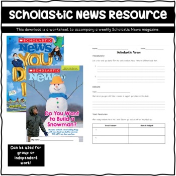 Scholastic News Resource