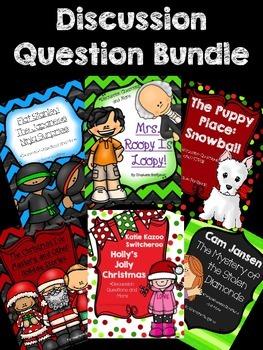 Scholastic Winter Value Pack Discussion Question Bundle