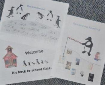 School Bulletin Board Ideas with penguins