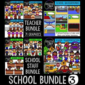 School Bundle 3 {Creative Clips Digital Clipart}
