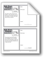 School Bus (Grade 3 Daily Word Problems-Week 2)